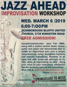 Jazz Ahead – Student Workshop about Improvisation